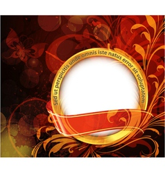 Abstract gold label vector