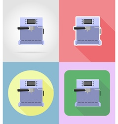 household appliances for kitchen 04 vector image