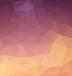 Abstract triangulated background vector
