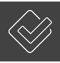 Foursquare vector image vector image