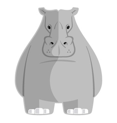 Hippoptamus vector image vector image