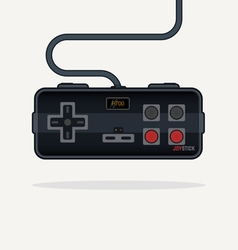 Line game controller vector image