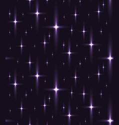 Seamless texture of the night sky with stars vector