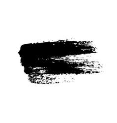 Grunge background brush stroke vector