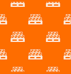 boxes goods pattern seamless vector image vector image