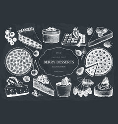 collection of vintage baking vector image vector image