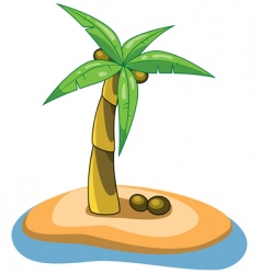 palm clipart vector image