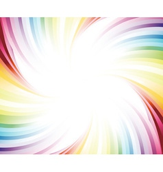 Rainbow colorful banner vector