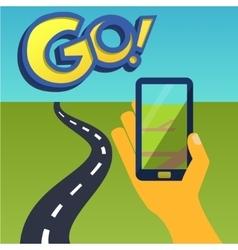 Smartphone game 1 vector
