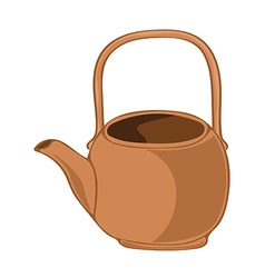 tea kettle vector image