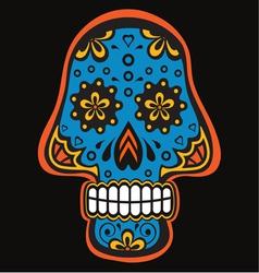 Skull4 vector image