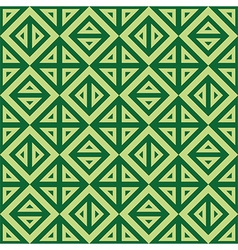 Geometric abstract green pattern seamless vector
