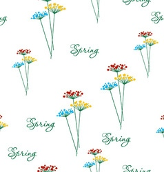 Springtime flower vector