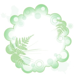 decorative abstract frame vector image