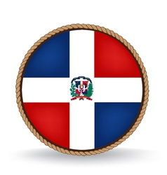 Dominican republic seal vector