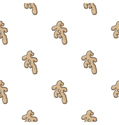 Ginger icon in cartoon style isolated on white vector image