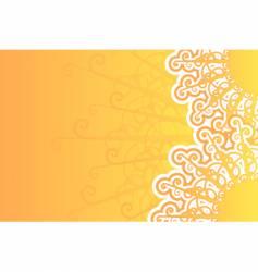sunny retro background vector image vector image
