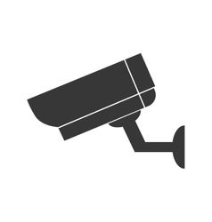 cctv camera security technology icon vector image
