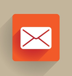 Post envelope icon vector