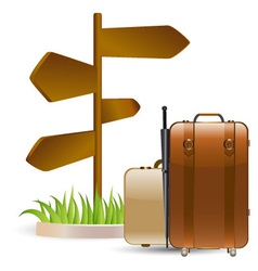 Travels vector image