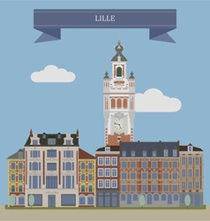 Lille vector image vector image