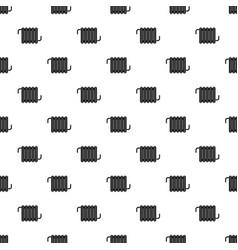 radiator pattern vector image vector image