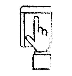 Touch point hand vector