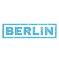 Berlin rubber stamp vector