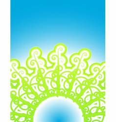 Vines nature abstract vector