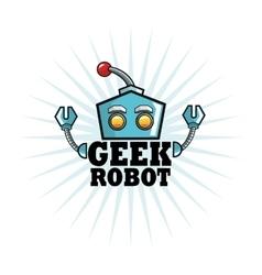 Geek design identity concept vector