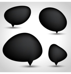 Modern Speech Bubble Set vector image