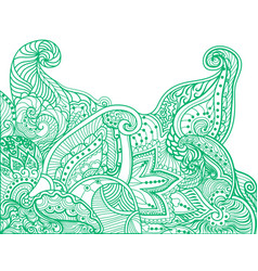 Abstract doodles vector