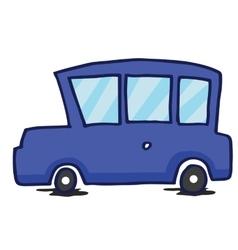 Blue car collection t-shirt design vector