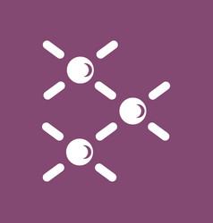 Icon atomic energy vector
