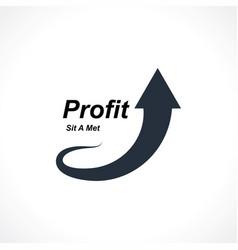 profit vector image