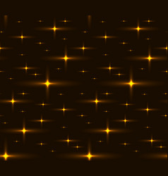 seamless texture of the night sky with stars vector image vector image