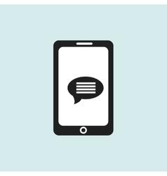 smartphone communicationdesign vector image