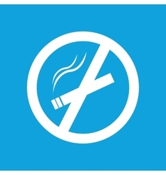 Smoking fobidden icon simple vector image