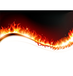Fire and sparks vector