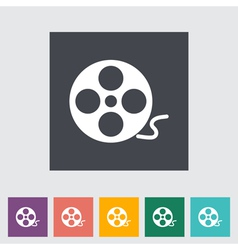 Reel film vector