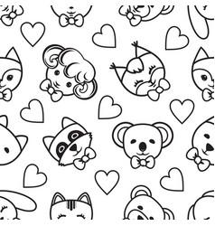 Kid toy seamless pattern vector