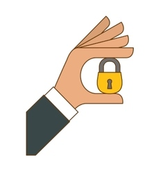Security or privacy related icons image vector