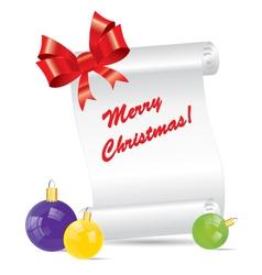 Christmas Festive Set vector image