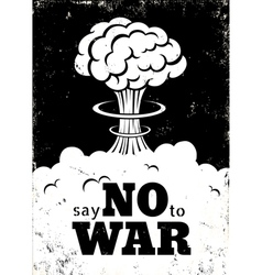 no war white vector image vector image
