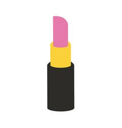 open lipstick icon image vector image