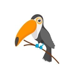 Toucan icon cartoon style vector image