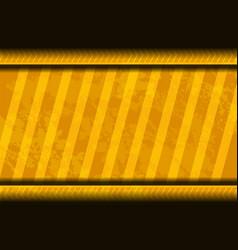 Yellow background grunge vector