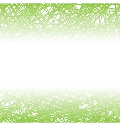 Abstract Green Line Background vector image vector image