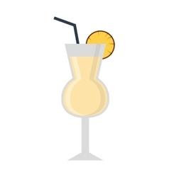 Mojito glass vector image