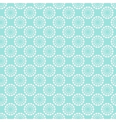 Vintage pale blue seamless pattern vector image